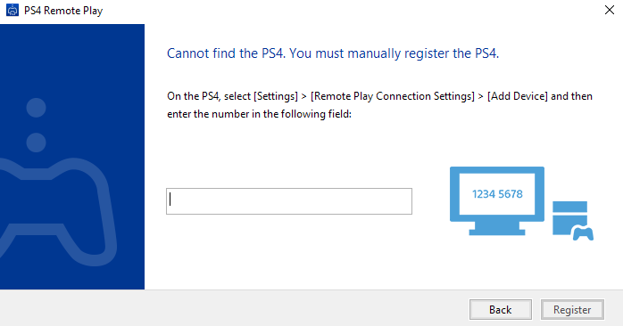 connect to PS4