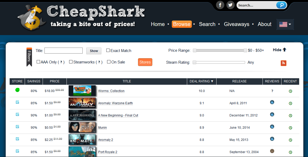 Cheap Shark tracker Amazon Price Tracker