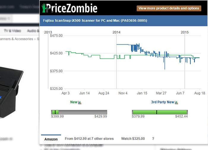 Price Zombie Price Tracker