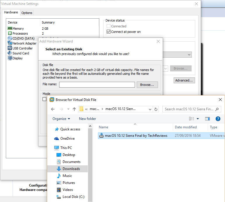 Virtual Machine VMDK