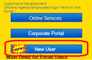 LIC Login New User Registration