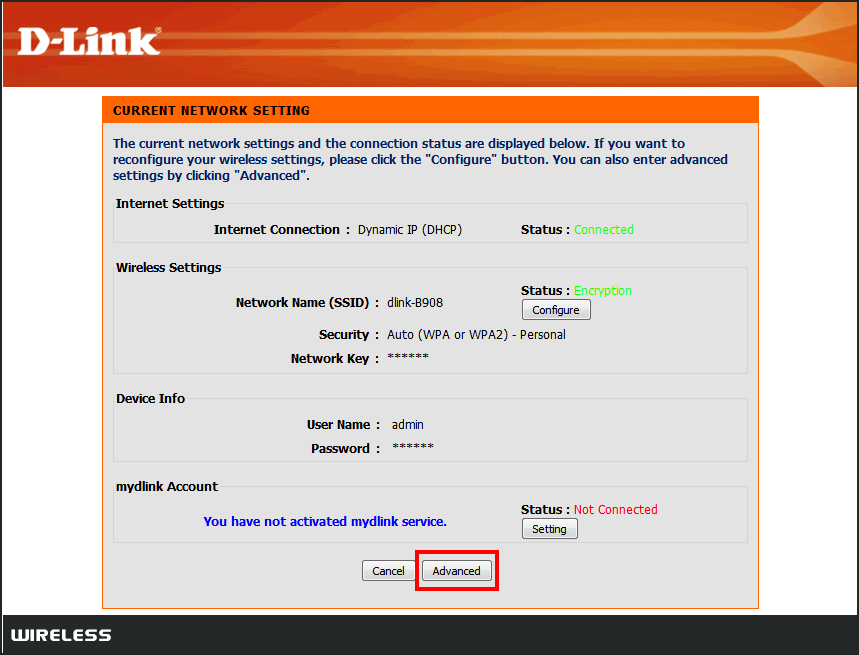 Update D-Link Wifi Router Firmware