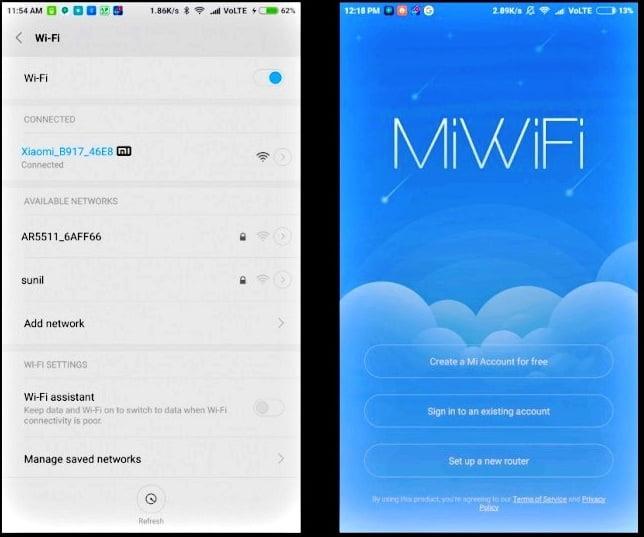 MI Router App Install
