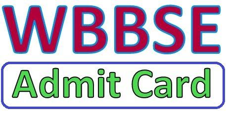 WBBSE 10th Admit Card 2019