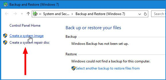 windows 10 create backup